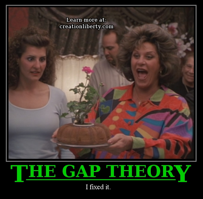 Demotivational Poster Gap Theory Evolution