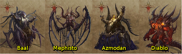 Diablo paladin demon knight mephisto baal ultra or dual high