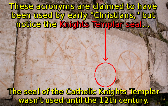 Christian Symbols Are Not Christian